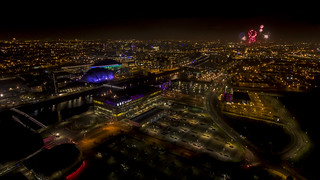 Glasgow from a drone