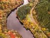 twisting river in glen affric (jan_baranovski) Tags: aerial phantom standard 3 pahntom3 glen affirc river valley nature drone trees forest road twisting reflection autumn colors landscape scotland highlands