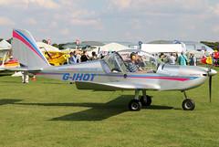 G-IHOT (GH@BHD) Tags: gihot evektor evektoraerotechnik ev97 teameurostaruk eurostar microlight laa laarally laarally2017 sywellairfield sywell aircraft aviation