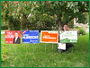 signs (Kitchener Conestoga Greens) Tags: 2015 elxn42 kitchener—conestoga gpc greenpartyofcanada bobjonkman federalelection canada ontario waterlooregion woolwichtownship wellesleytownship wilmottownship kitchener elmira