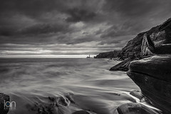 Rush Hour (ianbrodie1) Tags: leefilters coast coastline stmarys lighthouse moody mono blackwhite sea seascape ocean nikon tyneside north cloud cloudporn rocks waves steps