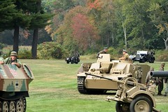 DSC_6421 (Mark Morello) Tags: collingsfoundation hudsonma battlefortheairfield encampment reenactment wwii worldwar2 german american british russian at6 pt17 texan stearman tanks german88 battle hudson massachusetts usa