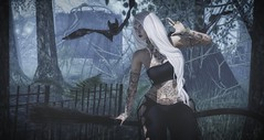 Witch Way to Turn (Kess Crystal @ The Glamour Sauce) Tags: maitreya salem tmd lelutka foxy izzies ksposes cynful secondlife sl slife slfashion slevents secondlifefashion virtualfashion bolsonstore cureless empyreanforge zaara fameshed