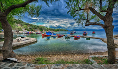 ¨Ορμος Γεροπλίνα Cove Geroplina (Dimitil) Tags: pelion pilio magnesia thessaly coastalvillages cove port boats reflections sky sea seascape nature