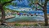 ¨Ορμος Γεροπλίνα Cove Geroplina (Dimitil) Tags: pelion pilio magnesia thessaly coastalvillages cove port boats reflections sky sea seascape nature