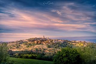 Before sunset ... San Gimignano, Tuscany
