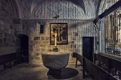 Capilla Bautismal (Carlos SGP) Tags: españa es castilla zamora iglesia escultura religiosa romanico church eglise altar arciprestal monumento nacional xi barroco ildefonso bautismal capilla