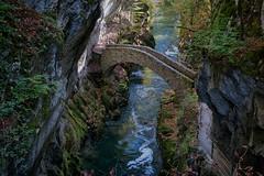 Pont du Saut de Brot (schoeband) Tags: gorgesdelareuse neuchâtel suisse schweiz svizzera switzerland canyon bridge