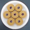 20/10/2017 Plate of biscuits (Pat's_photos) Tags: biscuit jam plate 365 flickrlounge weeklytheme