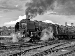 MRC2017-27 (Dreaming of Steam) Tags: 6233 46233 duchess duchessofsutherland heritage heritagerailways lms midlandrailwaycentre princesscoronation princesscoronationclass railway stainer steam steamengine sutherland train vintage engine locomotive railroad smoke steamlocomotive