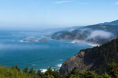 Hwy 101 CA-OR July 2018-28 (ntisocl) Tags: 2017 canon1dmarkiii canonef2470mmf28lusm hwy101 oregon oregoncoasthwy oregoncoast pacificnorthwest pacificocean coastline fog roadtrip rockybeach waves