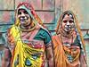 India series (Nick Kenrick..) Tags: hijra india transgender sari rangila