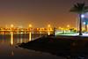 Bahrain by night. Al Muharraq quay (Andrey Sulitskiy) Tags: muharraq bahrain