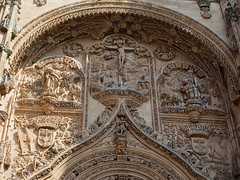 P9060587 (simonrwilkinson) Tags: salamanca castileandleón spain newcathedral doorway door portal west