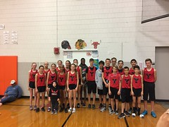 "Paul Poses with the 2017 State Cross Country Team • <a style=""font-size:0.8em;"" href=""http://www.flickr.com/photos/109120354@N07/26190583719/"" target=""_blank"">View on Flickr</a>"