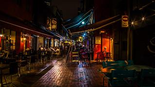 Hardware Lane at Night