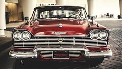 Death Behind the Wheel (3rd-Rate Photography) Tags: christine plymouth fury automotive automobile car stephenking johncarpenter horror movie moviecar 50mm 5dmarkiii canon orlando florida 3rdratephotography earlware
