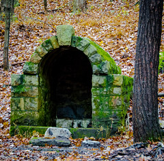 Remington Ruins (charlie_guttendorf) Tags: guttendorf lycoming nikon nikon18200mm nikond7000 abandoned empty homestead moss ruins rural stone vacant