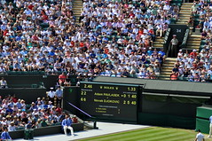 Djokovic vs Pavlasek (charlottehbest) Tags: charlottehbest england summer 2017 uk wimbledone sport sports tennis lta