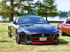 Jaguar F-Type R (Trippin' all over the place) Tags: jaguar fast furious loud black red show stlouis missouri topazlabs pse12 lumix panasonic