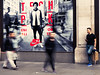 Slow Shutter - Oxford Circus 2 (stevedexteruk) Tags: nike shop store nikeworld london slowshutter blur blury advertising uk city westminster oxfordcircus regentstreet 2017