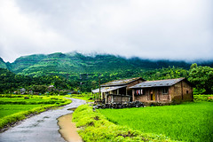 The eternal abode (mountainstroller) Tags: landscape remote village india monsoon