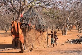 Himba Village Kamanjab Namibia Africa