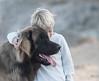 Tender (sveta_butko) Tags: boy blue dog brown natural fashion animal child model friends kid morning light friendship hugs pure cozy bond cure leonberger