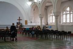 Evangelical Lutheran Church of Saint Katarina (ekoloskov) Tags: sanktpeterburg saintpetersburg russia ru church horse stpetersburg russianfederation basketball