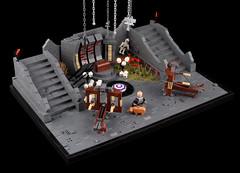 The Elder Scrolls Online – Zaintiraris Chamber (Xenomurphy) Tags: lego moc bricks eso teso elderscrolls skyrim tamriel pc game ps4 xbox morrowind zaintiraris sheogorath quest daedra telvanni telbranora molagmar dunmer elf
