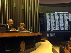 10/10/17 - Deputada no plenário da Câmara Federal
