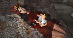 Happiness (__ Mariah1Moon __) Tags: second life secondlife sl m1m savoir faire look fashion deco decor avatar model virtual 3d catwa safira saga sam poses etnia