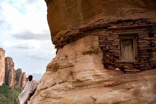 Rock Church Window