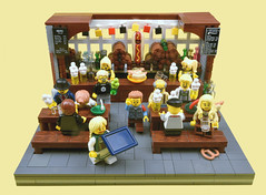 Octoberfest (MinifigNick) Tags: octoberfest lego afol minifig minifignick beer bar german