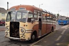 DSC_0001 (richellis1978) Tags: truck lorry bus coach abandoned scarp 76 76emp emp saunders bedford sbg plaxton venturer sb winkleigh