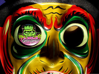 Glitter Witch Goon Squad Button Jumbo Halloween Mask 2555
