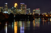 Minneapolis (AZSunsets) Tags: minneapolis mississippi river reflection city cityscape night twincities minnesota architecture exposure long