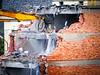 Demolition of an ex Piaggio building (1) ((Imagine) 2.0) Tags: reportage 2017 lumixgvariopz45175mmf4056 olympusomdem10markii buildings demolition finaleligure