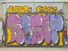 177 (en-ri) Tags: reser tots crew nero lilla giallo parco dora torino wall muro graffiti writing arrow