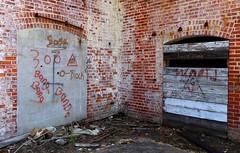 O-Block (Todd Evans) Tags: canon 77d fortpayne alabama al industrial ruins factory mill brick abandoned bigmill graffiti