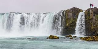 Godafoss waterfalls - Waterfall of the Gods