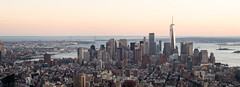 Panorámica. Sur de Manhattan. (Luis Pérez Contreras) Tags: viaje eeuu usa trip 2017 olympus m43 mzuiko omd em1 manhattan nyc newyork nuevayork estadosunidos panorama panorámica empirestatebuilding