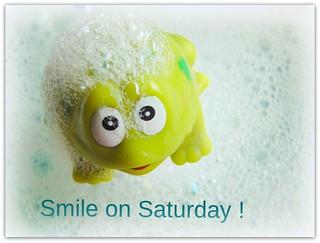 Smile on Saturday Theme- Bubbles