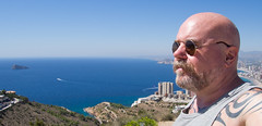 Benidorm. 2017. September. (CWhatPhotos) Tags: cwhatphotos olympus four thirds 43 omd em10 ii digital camera photographs photograph pics pictures pic picture image images foto fotos photography artistic that have which with contain artistc benidorm beach seaside resort spain costa blanca spanish fun hol holiday september 2017 self selfee selfie portrait view background