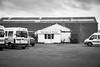 Service & Parts (Number Johnny 5) Tags: lines tamron d750 nikon decay typography minibus van noir yarmouth building bw commercial urban great monochrome 2470mm bnw car overgrown black park sign angles text white