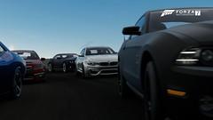 Forza Motorsport 7 (nikitin92) Tags: game screenshots vidoegame forzamotorsport7 bmw m4 libertywalk ford shelby gt500 dodge challenger srt8 392 chevrolet camaro hsv gts pc germany america car racing road zl1