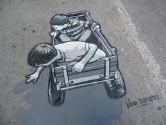 Montreal 2017 (bella.m) Tags: graffiti streetart urbanart montreal canada art joelurato wagon kids play