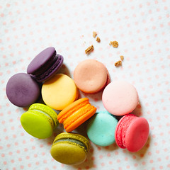 Closeup colorful macarons or macaroons (Patrick Foto ;)) Tags: assorted assortment background bake bakery biscuit blue cake calories candy chocolate closeup coffee color colorful confection confectionery cookie cream cuisine cup delicate delicious dessert flavor food france french gourmet green isolated macaron macarons macaroon macaroons paris pastel pastry pile pink sandwich snack strawberry sugar sweet tasty traditional vintage white yellow