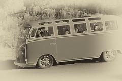 VW~Let the good times roll (Karen McQuilkin) Tags: vw van retro vintage auto volkswagen