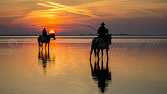 Guardians (pixellesley) Tags: dawn daybreak sunup lagoon lake water reflection people riders guardians colour horses animals equine romantic tranquil still calm